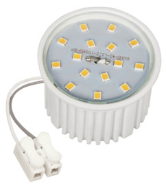 Module LED encastrable 7W 510lm - Blanc chaud
