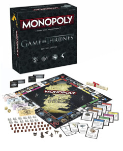 Monopoly édition Game of Thrones - Edition Deluxe