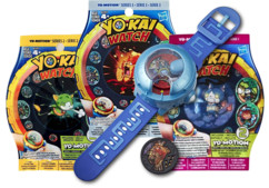 Montre à double projection Yo-Kai Watch Modèle U + 6 Médailles