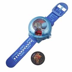 montre interactive yokai watch modèle u saison 3 avec projections chansons nom des yokai 2 medaillons