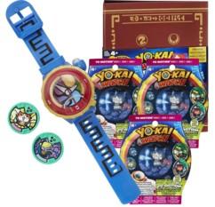 Montre parlante Yo-Kai Watch Modèle Zéro + 3 sachets de 2 médailles + Medallium