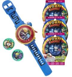 Montre parlante Yo-Kai Watch Modèle Zéro + 3 sachets de 2 médailles Yo-Motion