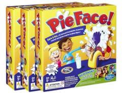 Pack de 3 boîtes du jeu de société Pie Face