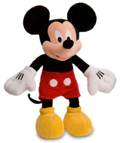 peluche mickey 90e anniversaire design original grande taille 50 cm
