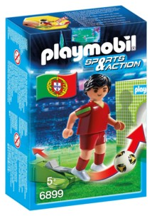 Playmobil Sports & Action : joueur de foot - Portugal