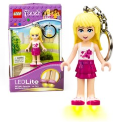 Porte-clés LED LEGO Friends Stephanie.