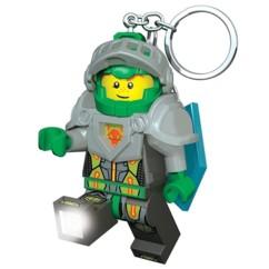 Porte-clés LED LEGO Nexo Knights Aaron.