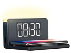 Réveil avec chargeur à induction rapide 10W