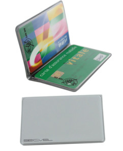 Set de 2 porte-cartes RFID
