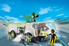 playmobil super 4 techno cameleon avec figurine gene set 6692