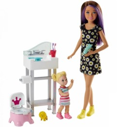 Barbie Skipper Baby-Sitter FJB01.