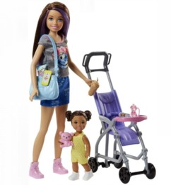 Barbie Skipper Baby-Sitter FJB00.