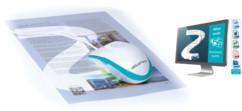 souris scanner iriscan mouse executive 2 avec reconnaissance des caracteres pour tous documents