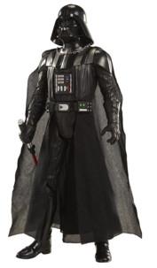 figurine geante dark vador darth vader star wars avec sabre laser lumineux et voix anglaise