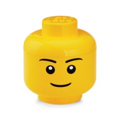 Tête de rangement LEGO garçon taille S.