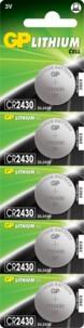 Piles bouton CR2430 - Lot de 5