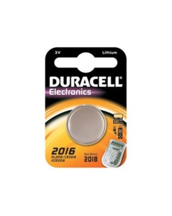 Duracell pile bouton CR2016