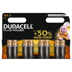 Duracell piles LR6 type AA - Lot de 8