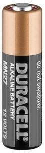 Pile Alcaline 12V LR27/MN27 Duracell