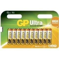 Piles alcalines AA GP Ultra - x10