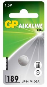 pile bouton alcaline gp alkaline cell 1,5v lr54 v10ga a76