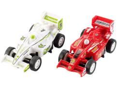 2 voitures supplémentaires pour valise circuit de course