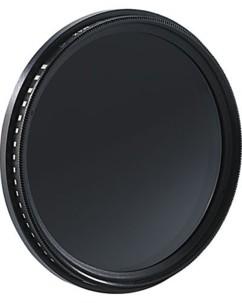 Filtre gris variable ND2 à ND400 - 67 mm
