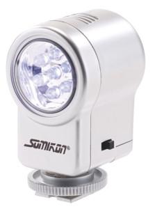 mini lampe led pour appareil photo numerique et compact somikon
