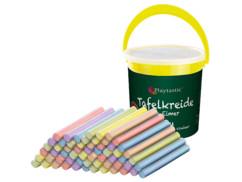 Seau avec 60 craies de couleur