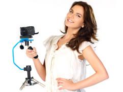 Stabilisateur de prises de vue pour caméra + trépied