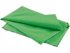 Tissu d'arrière-plan vert en coton 300 X 400 cm