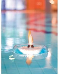 Torche décorative flottante au bioéthanol