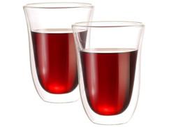 2 verres double paroi - 27 cl