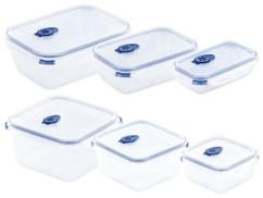 6 boîtes de conservation avec fonction sous-vide