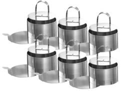 6 Cercles de présentation avec accessoires