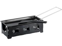 Appareil à raclette à bougie - pour 2 personnes
