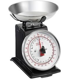 Balance de cuisine analogique rétro