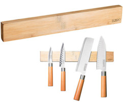 Barre aimantée 36 cm - en bois de bambou