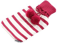 Housse pour bouillotte Pearl 2 L - Style tricot