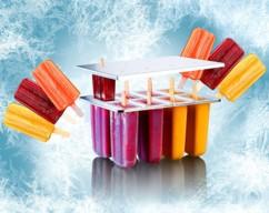 Moule à glace - 8 bâtonnets