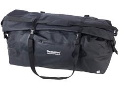 sac de sport et de voyage totalement étanche avec toile pvc anti-usure poche exterieure et bandouliere reglable 110l semptec