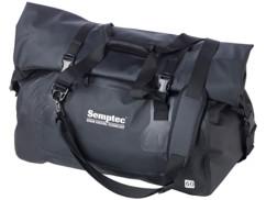 sac de sport et de voyage totalement étanche avec toile pvc anti-usure poche exterieure et bandouliere reglable 60l semptec