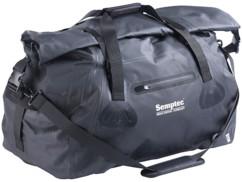 sac de sport et de voyage totalement étanche avec toile pvc anti-usure poche exterieure et bandouliere reglable 90l semptec