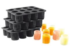 3 moules en silicone pour faire jusqu'à 36 verres de glace