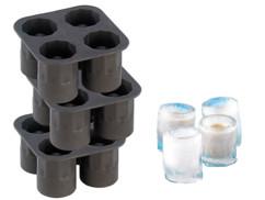 3 moules silicone pour 4 verres en glace