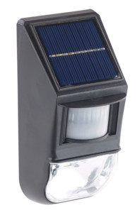 mini veilleuse led murale avec chargeur solaire et détecteur Lunartec