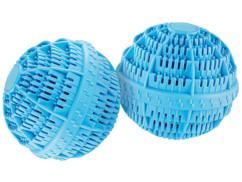 2 boules de lavage en céramique 10cm