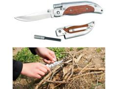 Couteau de poche avec allume-feu en magnésium