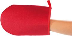 Gant nettoyant textile