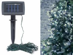 Guirlande lumineuse solaire pour extérieur - 10 m